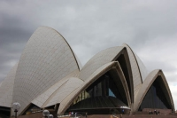 Aproaching the Opera House